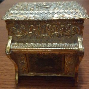 Piano Musical Jewelry Box
